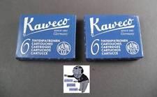 # Kaweco Patronen 2 Pakete Tinte Königsblau neu #