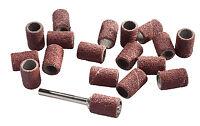 20 Schleifbänder Schleifhülsen 6 mm + Halter Dremel, Proxxon alle Mini Schleifer