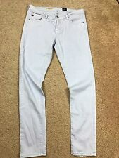 Adriano Goldschmied AG Women's The Legging Ankle Baby Blue Jeans 30 X 28.5