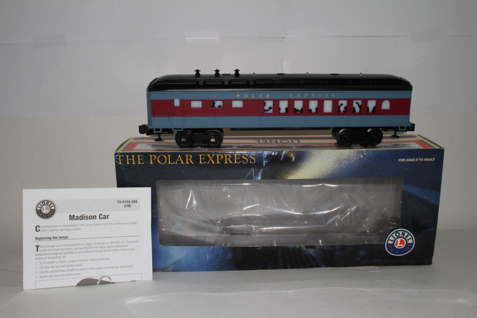 Lionel   6-25134 der polar - express diner auto, beleuchtete, ausgezeichnet, umzingelt