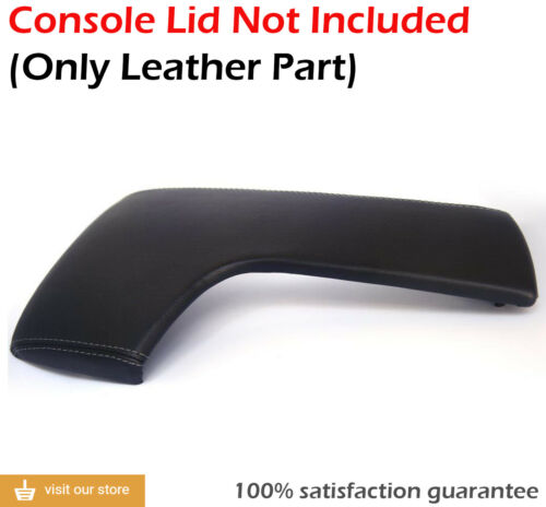 CenterConsole Armrest Leather Synthetic Cover for Lexus IS350 14-16 Gray Stitch