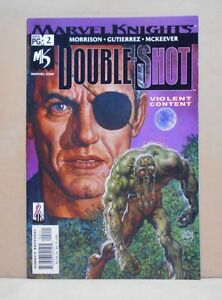 MARVEL-KNIGHTS-DOUBLE-SHOT-Vol-1-2-of-4-2002-Marvel-9-0-VF-NM-Uncertified