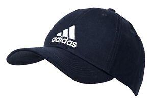 evolución electrodo Huerta  Adidas Men 6P Cotton Caps Running Hat Navy White Tennis Sports Hat Cap  DT8563 | eBay