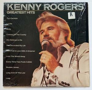 KENNY ROGERS Greatest Hits LP 1980 Shrinkwrap + Original ...