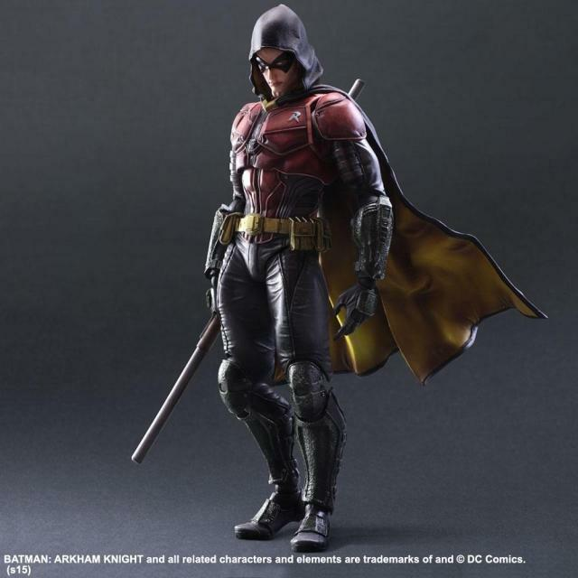 Playarts KAI Batman Arkham Knight Robin PVC Action Figure Collectible Model Toy