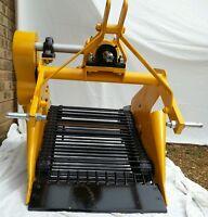Single Row Potato Harveste/Lifter/Digger for smallTractor 5-30 hp New UK made