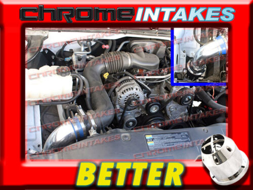 CF BLUE RED 99-07 CHEVY//GMC//CADILLAC TRUCKS//SUVS 4.8//5.3//6.0//8.1 V8 AIR INTAKE
