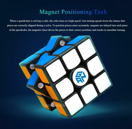 GAN 356X Numerical IPG V2 Stickerless 3x3 magnetic Speed Magic Cube GES System