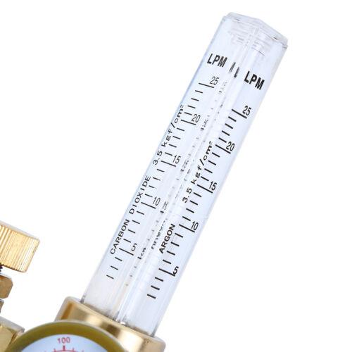 CGA-580 Argon CO2 Mig Tig Flow Meter Regulator Welding Gas Welder Gauge