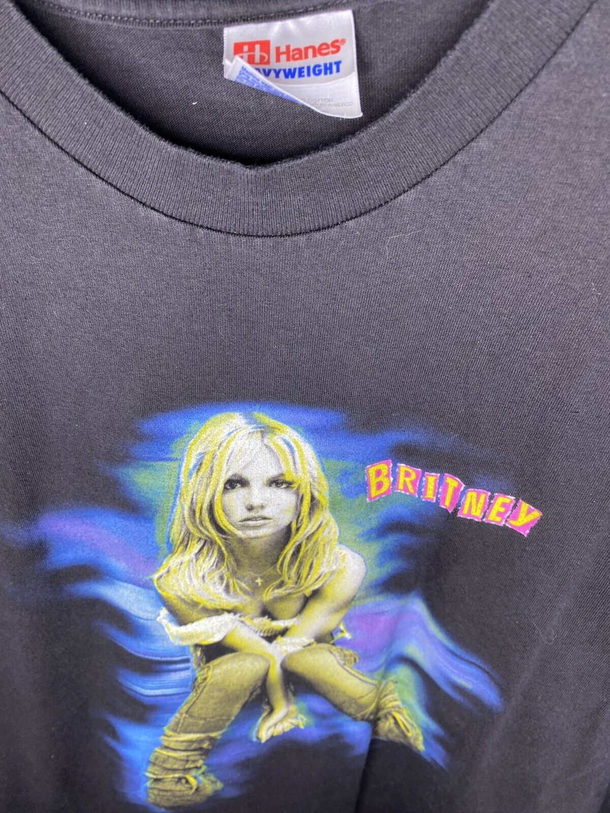 Vintage Britney Spears T Shirt 2001 The Britney T… - image 2