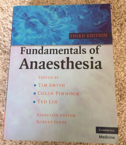 1 of 1 - Fundamentals of Anaesthesia by Cambridge University Press (Paperback, 2009)