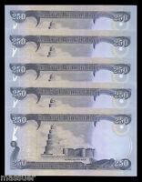 NEW IRAQI DINAR 2500  10 X 250 DINAR NOTES   CRISP UNCIRCULATED  24 Sets Avail.2