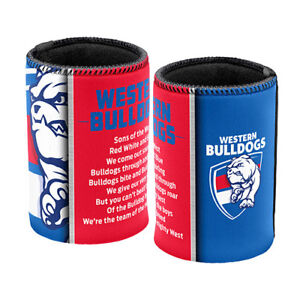 Western-Bulldogs-AFL-Team-Song-Stubby-Can-Cooler-AFL-OFFICIAL-MERCHANDISE