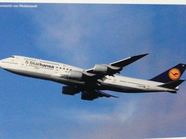 1 500 Herpa Lufthansa Boeing 747-8 Intercontinental Starhansa D-ABYM Bayern ...