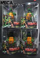 """NIW 4 PCS  NECA Teenage Mutant Ninja Turtles TMNT 15cm 5.9"""" Action Figure Toy"""
