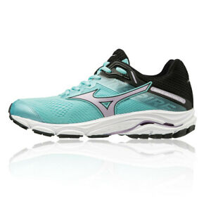 Mizuno-Womens-Wave-Inspire-15-Running-Shoes-Trainers-Sneakers-Blue-Sports