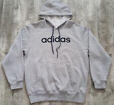 2006 adidas Spellout Heather Gray Hoodie size Medium