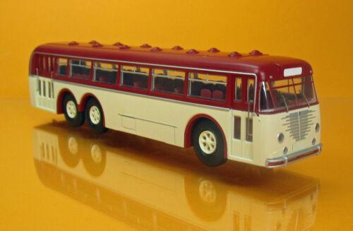 Brekina 59421 Büssing 12000 omnibus Beige Rosso Forma novità autocorriere NUOVO OVP