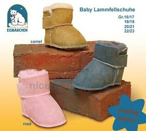 Baby Echt Lammfell Boots Stiefel Winterschuhe Lammfellschuhe