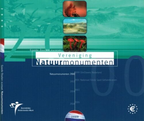 Netherlands Coin Set 2000 Natural Monuments