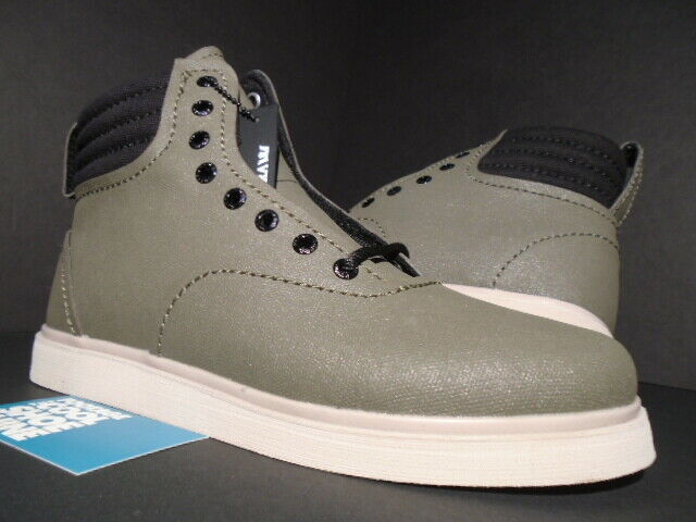 SUPRA HENRY BOOTS TUF ARMY GREEN OLIVE GREY CEAM OFF WHITE BLACK S03005 NEW 9.5