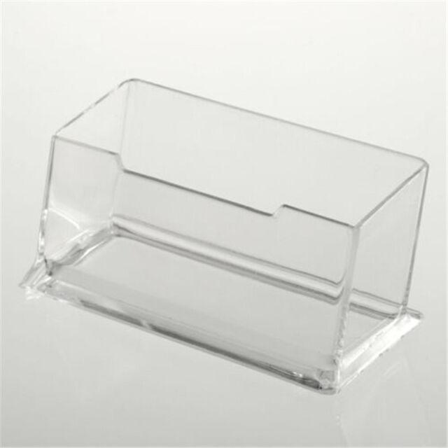 Hot Sale acrylic Plastic Desktop Business Card Holders Display Stands -DR