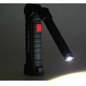 Rechargeable-COB-LED-Slim-Work-Light-Lamp-Flashlight-Inspect-Folding-Torch-18650