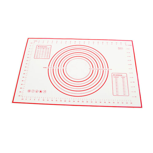 50*70cm Non Stick Silicone Baking Mat Rolling Kneading Dough Sheet Tray Liner TR