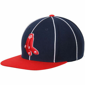 3f4f11ae BOSTON RED SOX AMERICAN NEEDLE RETRO LOGO THE BIG SHOW OSFA SNAPBACK ...