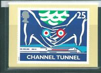 wbc. - GB - PHQ CARDS - 1994 - OPENING CHANNEL TUNNEL  - COMP. SET  MINT