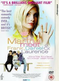 Martha, Meet Frank, Daniel And Laurence (DVD, 2004) - No Case - Only DVD Disc(s)
