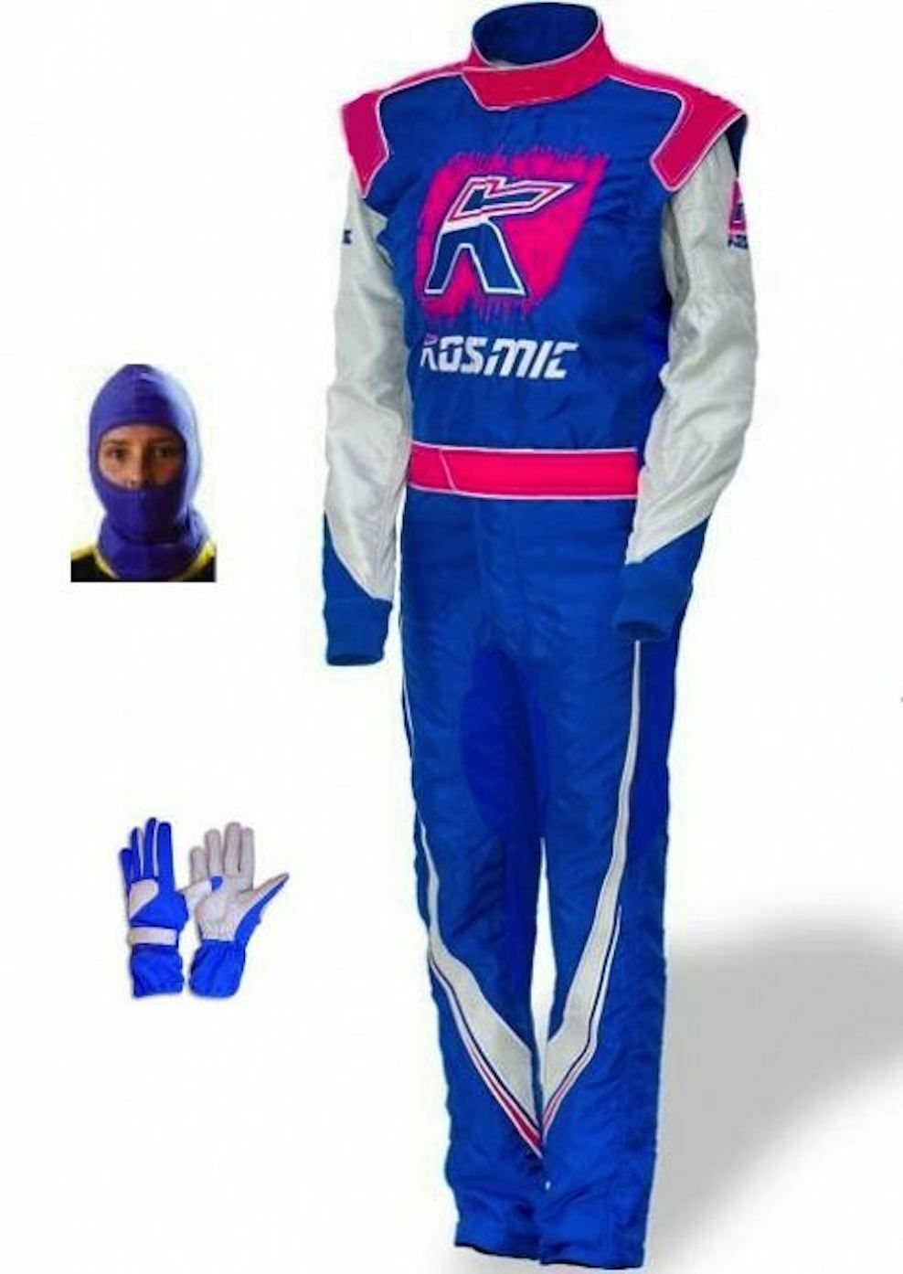 Kosmic kart race CIK FIA level 2 suit 2013 style (free gifts)