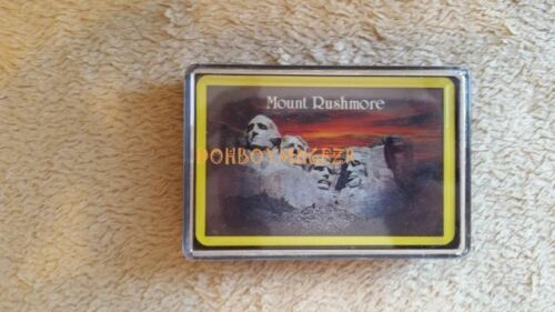 Vintage Standard Deck Playing Cards Mount Rushmore Sealed