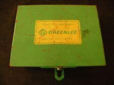 Vintage Greenlee Cable Stripper Electrician Tool Cat 1820 6 Dies
