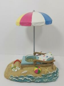 Yankee Candle Beach Lounge Chair & Umbrella Candle Holder ...