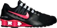 New Nike Womens Shox Avenue SE Black Ember Glow Running Shoes sz 7.5