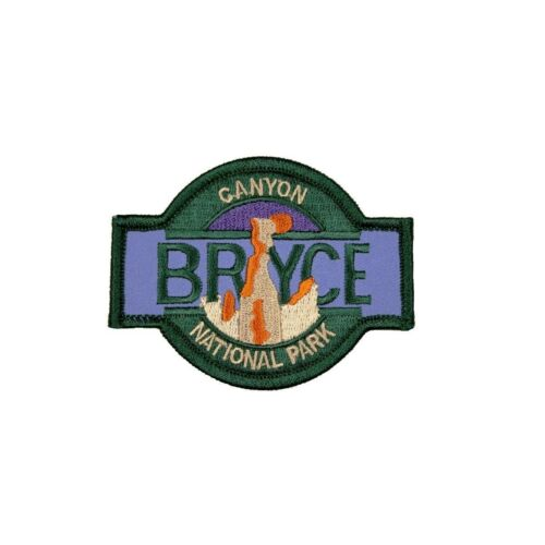 Bryce Canyon National Park Patch Utah Travel Badge Embroidered Iron On Applique
