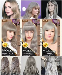 Image Is Loading Molly Organic Hair Cream Color Light Blonde Ash
