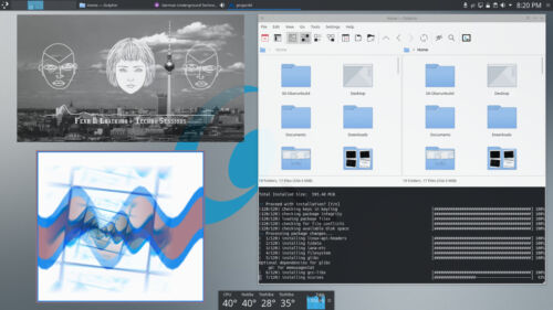efficient Obarun Linux Live OS USB 64bit Arch fast simple Replace Windows