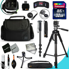 Xtech Accessory KIT for SONY Alpha A5100 Ultimate w/ 32GB Memory + 4 bts + MORE