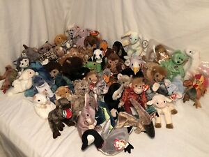 Ty Beanie Babies Lot All with Hang Tags! Random Selection Of 6 for $20! See Pics