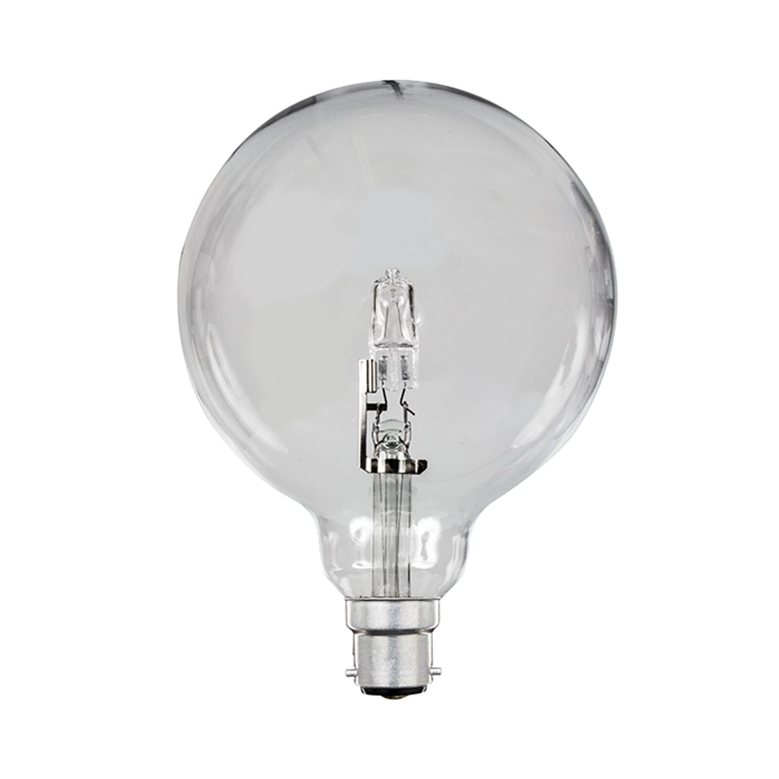 Brilliant G125 ECO HALOGEN GLOBE 42W Dimmable Dome Clear Bulb, BAYONET or SCREW