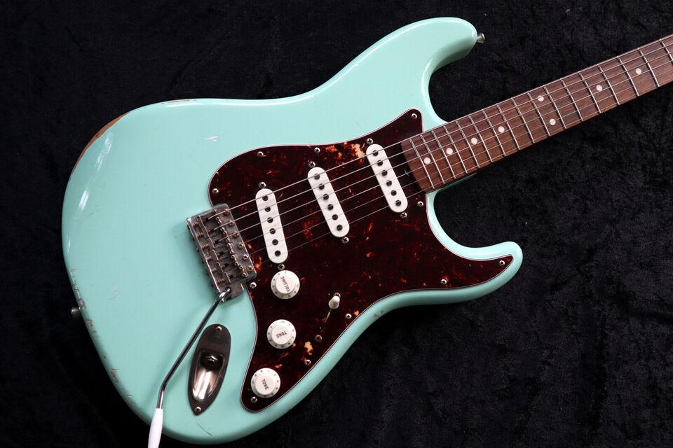 Stratocaster 63 Håndbygget fra Miller i USA med...