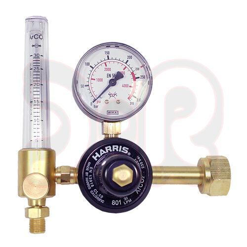 HARRIS Gassparer Gassparventil für Schutzgas Argon//Co2 Druckminderer Druckregler