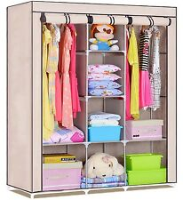 FOLDING WARDROBE CUPBOARD ALMIRAH- XI- BG