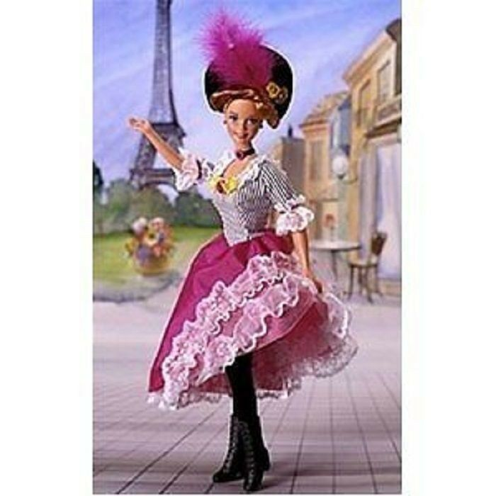 French Barbie Doll of the World Collection 1996 NRFB
