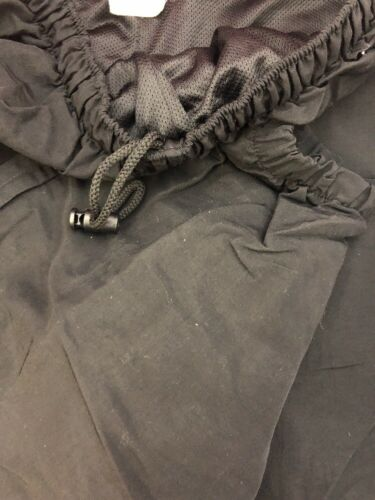 ONE PAIR US ARMY PFU Physical Fitness Uniform Pants Black Good Condition