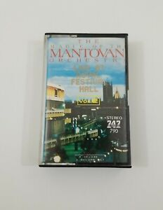 The Magic of the Mantovani Orchestra Live at Royal Festival Hall Vol 2 Cassette