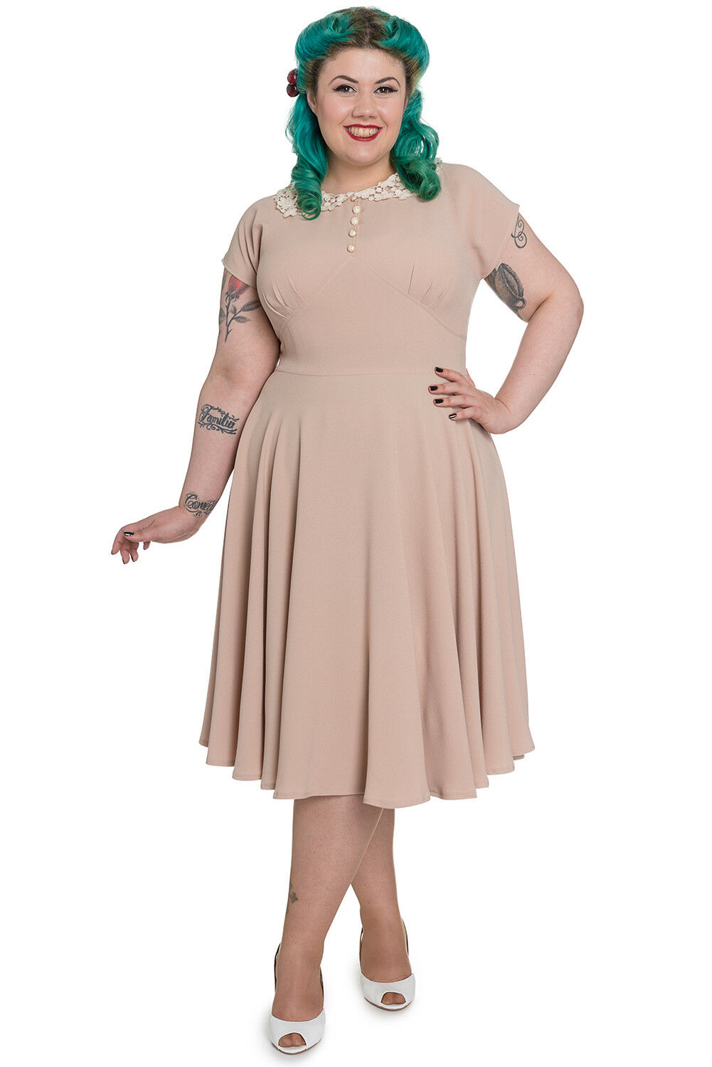 Hell Bunny 40s Emilie Victory Cocktail Party Dress