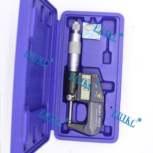 ERIKC Common rail injector Digial Micrometer for tes thickness of spare parts